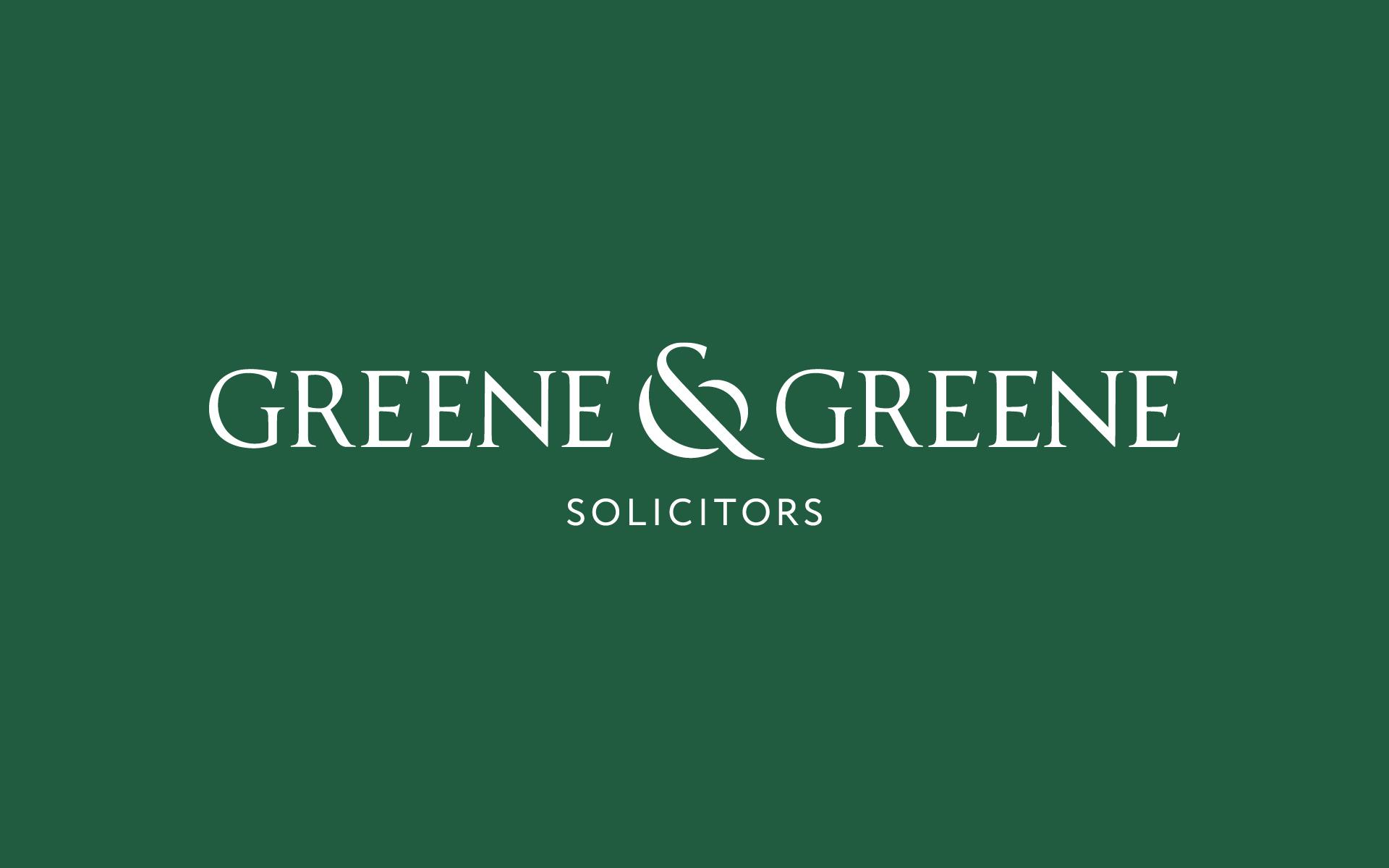 Greene & Greene landscape logo design