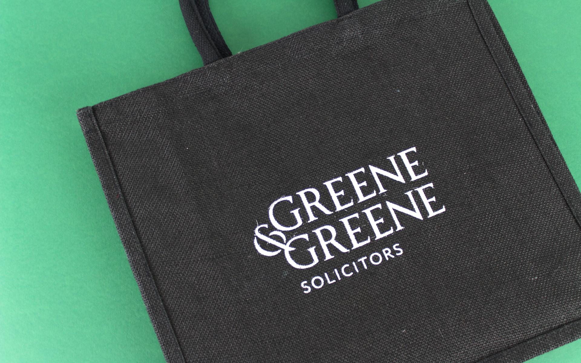 Jute bag design for Greene & Greene