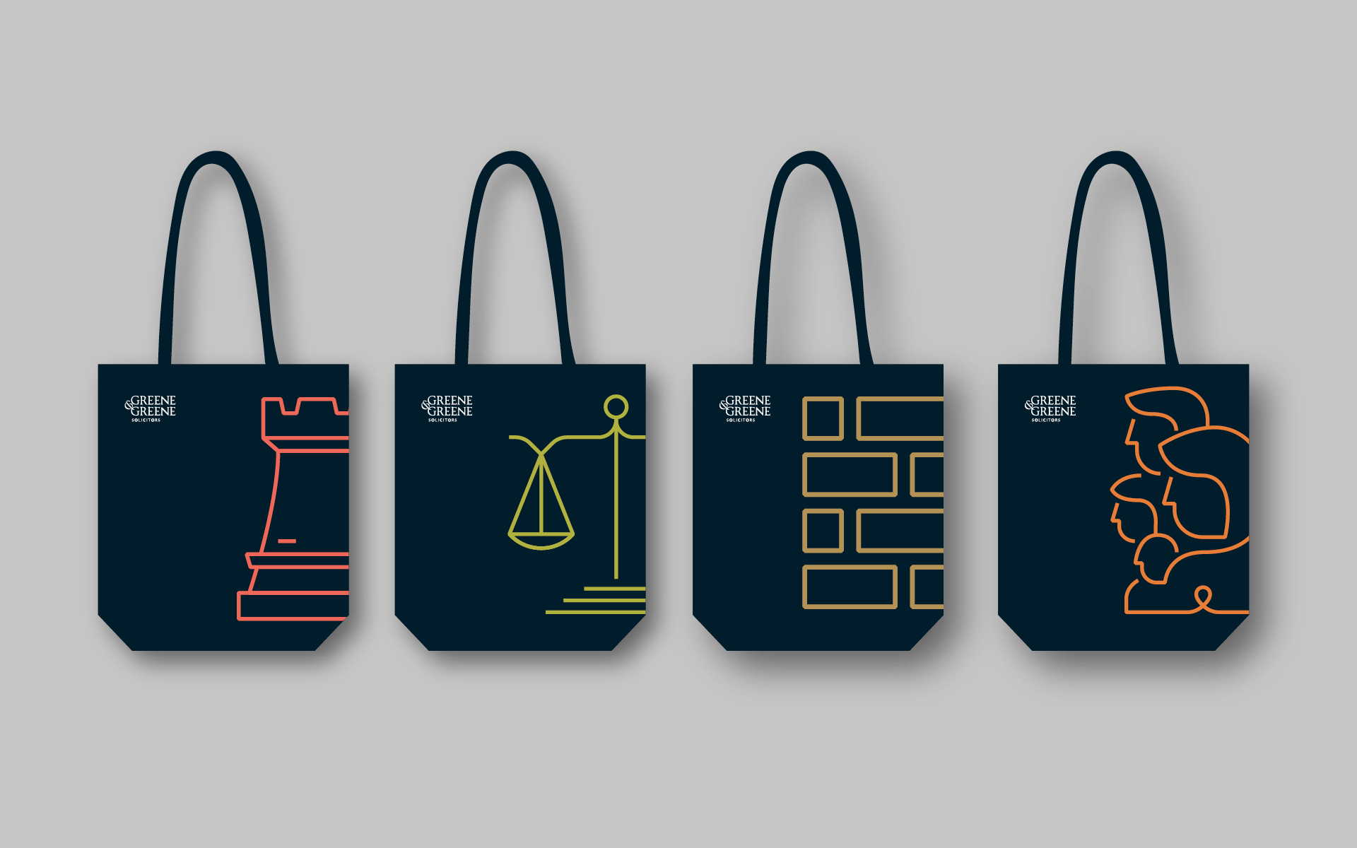 Tote bag design for Greene & Greene