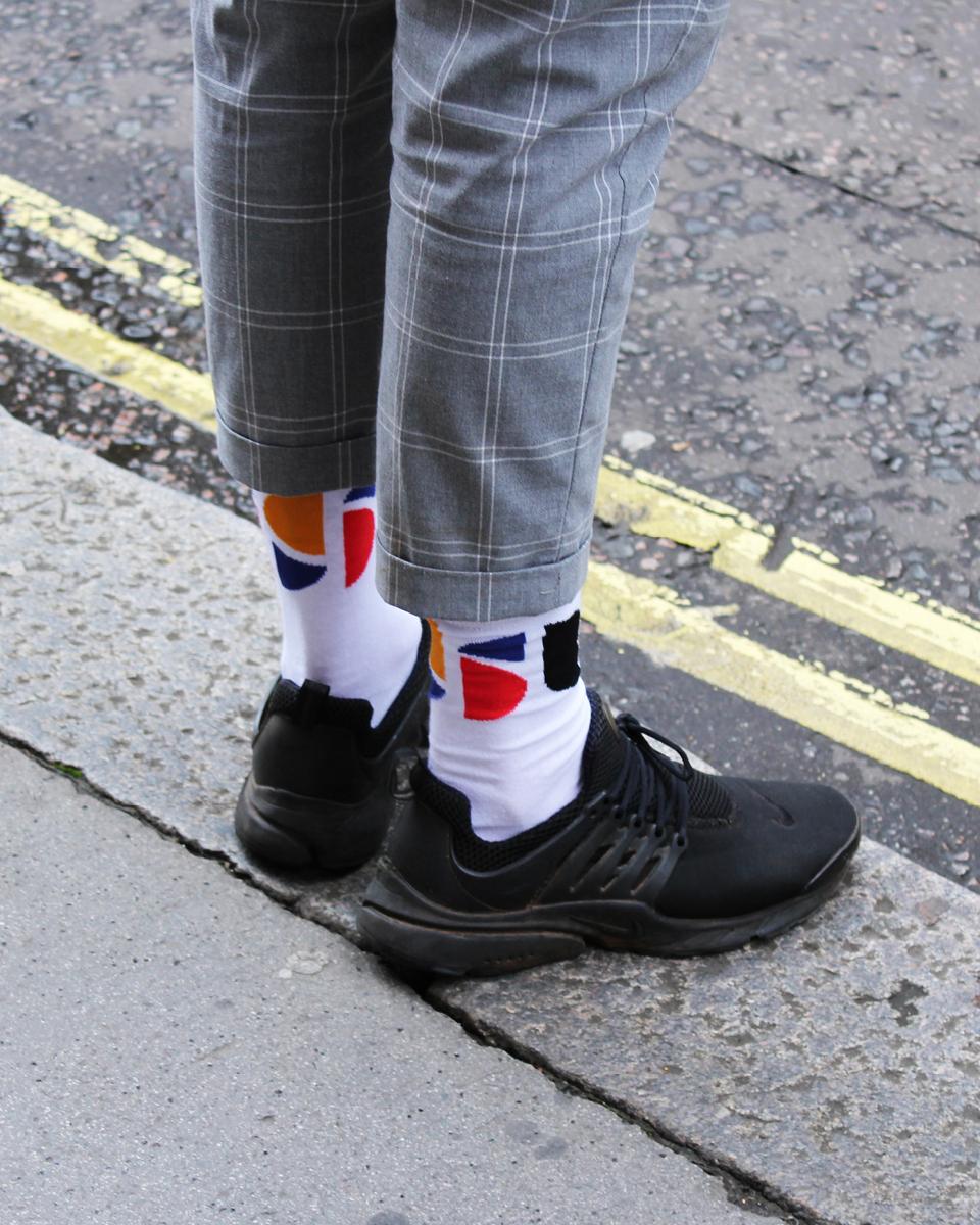 Branded socks for Soho Scooters