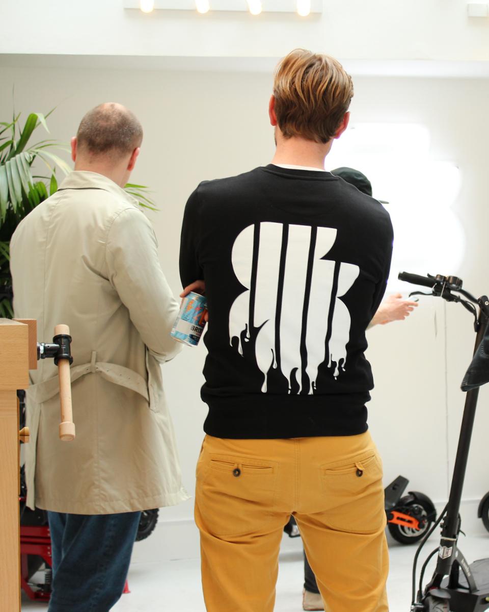 Graffiti Jumper design for Soho Scooters